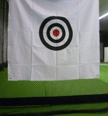 Golfsyndikat Golfsimulator Skytrak Indoorgolf Netzkäfig Zielscheibe