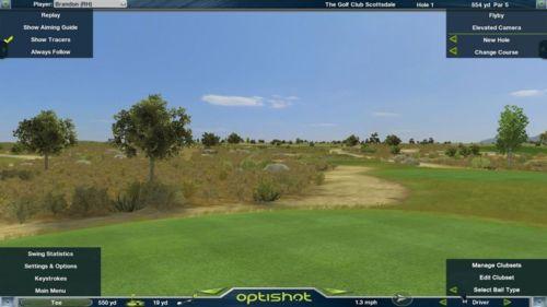 Golfsimulator OptiShot2 GolfSyndikat Indoorgolf