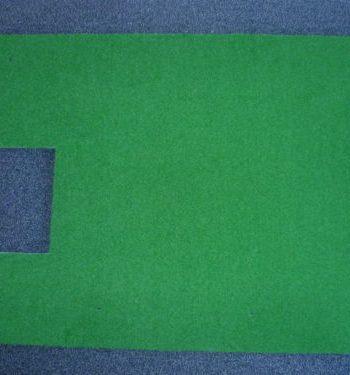 Abschlagmatte Golfsimulator OptiShot2 GolfSyndikat Indoorgolf