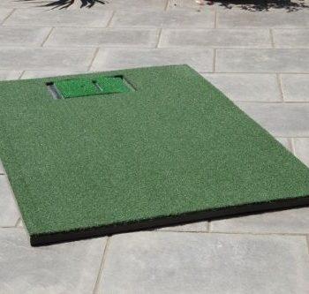 Abschlagmatte komplett Golfsimulator OptiShot2 GolfSyndikat Indoorgolf