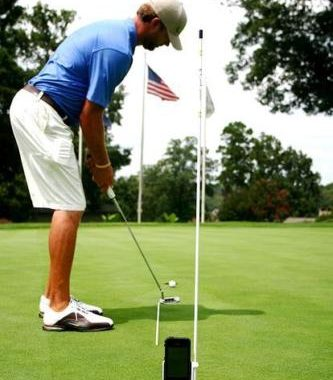 Golf Training iphone Smartphone Halterung Gadget