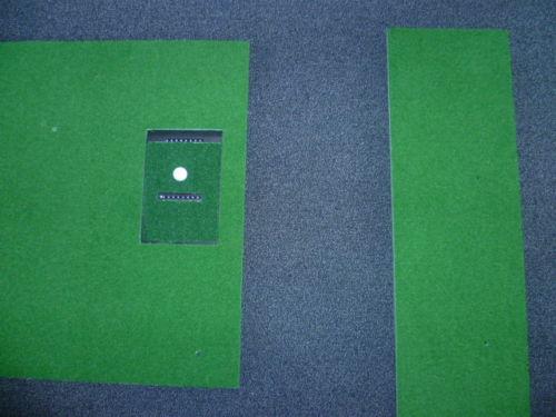 Abschlagmatte 2 teilig Golfsimulator OptiShot PRO GolfSyndikat Indoorgolf