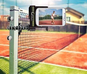 Tennisnetz iphone Smartphone Halterung