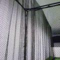Golfsyndikat Golfsimulator Skytrak Indoorgolf Netzkäfig Sicherheitsnetz Detail