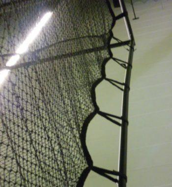 Golfsyndikat Golfsimulator Skytrak Indoorgolf seitliches Netzkäfig Sicherheitsnetz