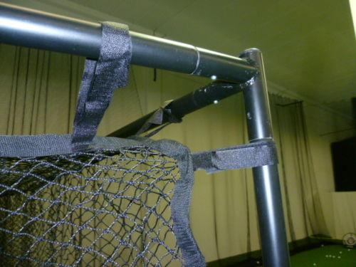 Golfsyndikat Golfsimulator Skytrak Indoorgolf Netzkäfig Driving Range oben