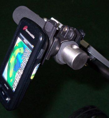 Trolley Halterung GPS Sonocaddie Distance