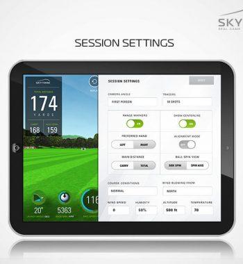 Golfsyndikat Golfsimulator Skytrak Indoorgolf Game Improvement