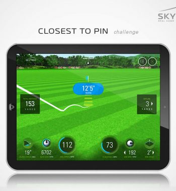Golfsyndikat Golfsimulator Skytrak Indoorgolf Launch Monitor Game Improvement