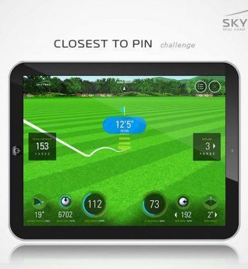 Golfsyndikat Golfsimulator Skytrak Indoorgolf Launch Monitor Game Improvement