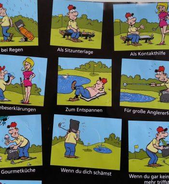Golfsyndikat Tooto Schlägerputztuch Indoorgolf Company