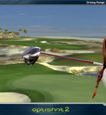 St. Andrews Golfsimulator OptiShot PRO GolfSyndikat Indoorgolf