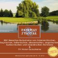 Fairway2Hotel 2019 Greenfee Gutschein, billiger golfen in 176 Clubs & 51 Hotels