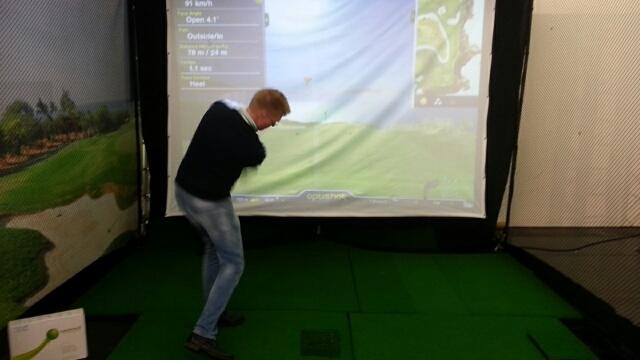 Golfsyndikat Eventsimulator Skytrak Indoorgolf Company
