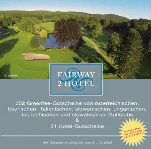 Gutscheinbuch Fairway2Hotel 2020