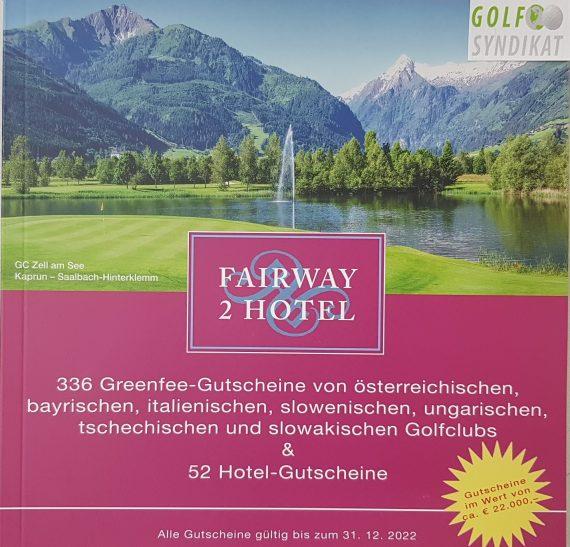 Gutscheinbuch Fairway2Hotel 2022