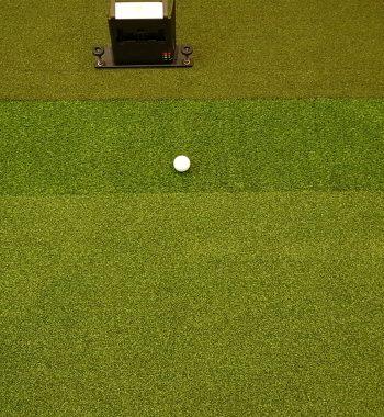 Abschlagmatte Golfsimulator