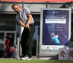 Event Golfsimulator SkyTrak Speedmessung Event Multisport Longest Putt Langer PGA
