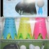 AIROTEE Set, 9-teilig, ideal für Mattenabschläge, als Wintertees und auch im Sommer, extrem langlebig